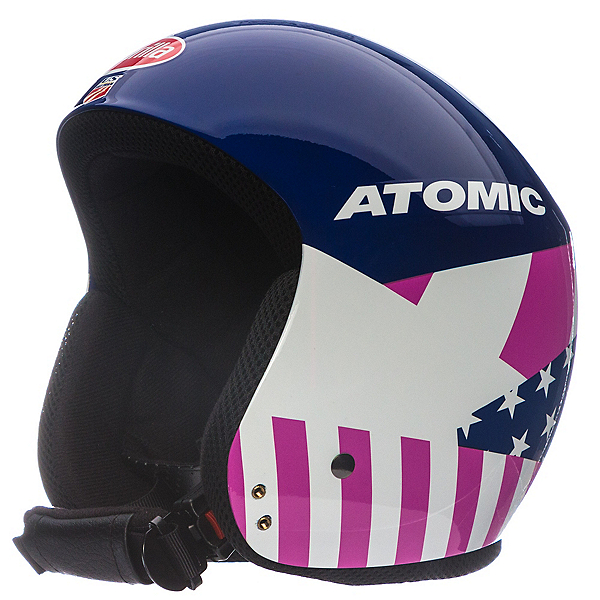 Atomic Redster WC Mikaela Helmet, Blue-White-Red, 600