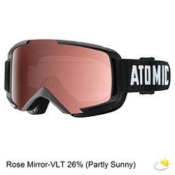 Atomic Savor OTG Goggles 2017, Black-Rose Mirror, 256