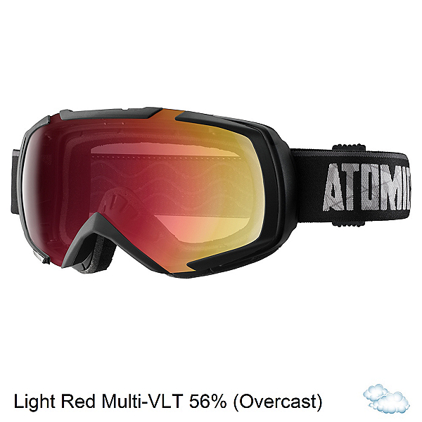 Atomic Revel ML Goggles 2017, Black-Light Red Multilayer, 600