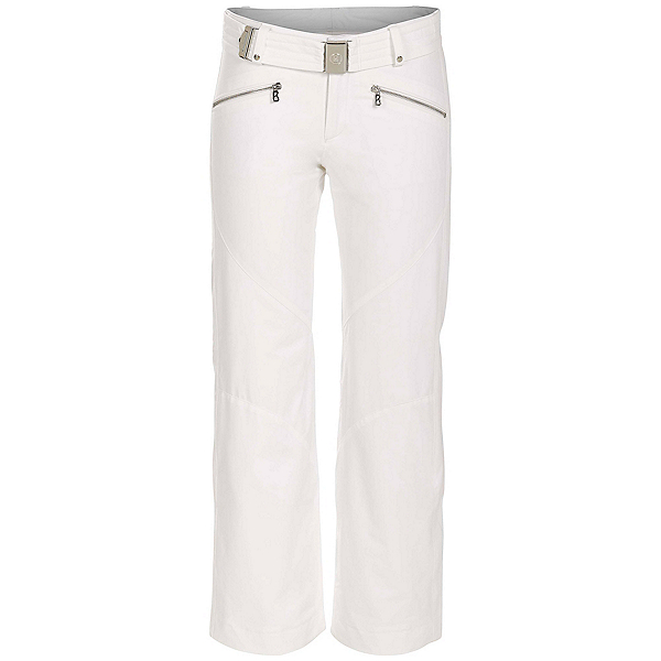 Bogner Frida T Long Womens Ski Pants, Off White, 600