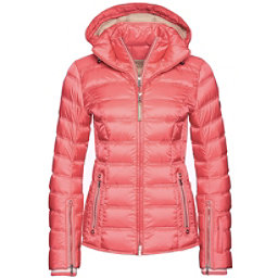 Bogner Noemi Down Womens Insulated Ski Jacket, Neon Pink, 256
