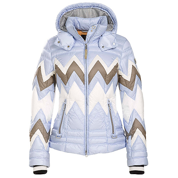 Bogner Nara Down 16 Womens Insulated Ski Jacket, Powder Blue, 600