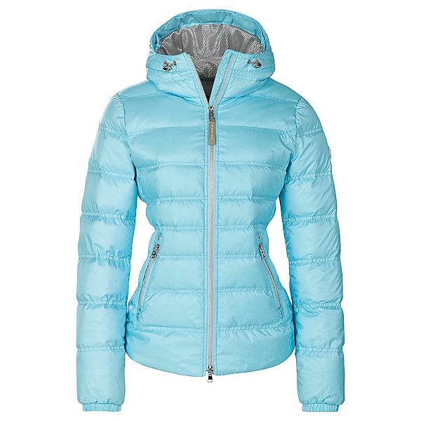 Bogner Kiki Down 16 Womens Insulated Ski Jacket, Ibiza Blue, 600