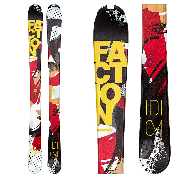 Faction Idiom Jr. R Kids Skis, , 600