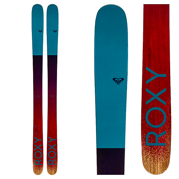 Roxy Shima 90 Womens Skis, , 600