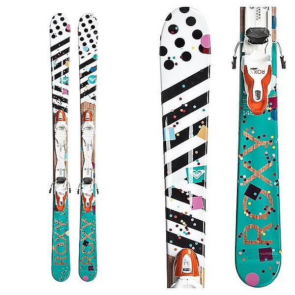 Roxy Bonbon Kids Skis with Xpress 7 Bindings, , 600