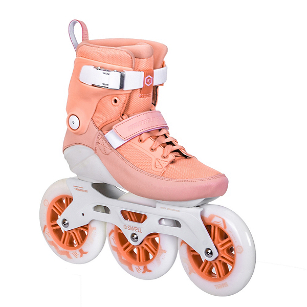 Powerslide Swell 125 Womens Inline Skates 2017, Peach, 600