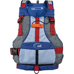 MTI BOB Kids Kayak Life Jacket, Blue-Gray, 256