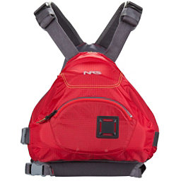 NRS Ninja Adult Kayak Life Jacket 2018, Red, 256
