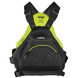 NRS Ninja Adult Kayak Life Jacket 2017, Black, 256
