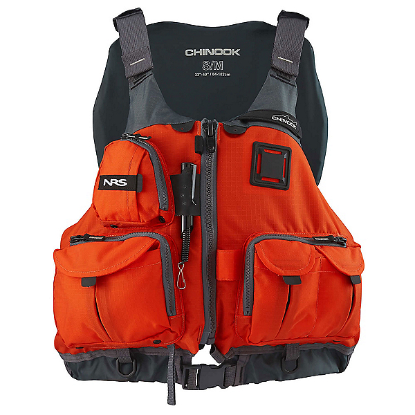 Nrs chinook fishing kayak life jacket 2018 for Nrs chinook fishing pfd