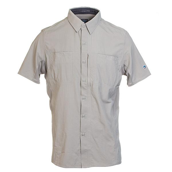 KUHL Wunderer Short Sleeve Mens Shirt, Khaki, 600