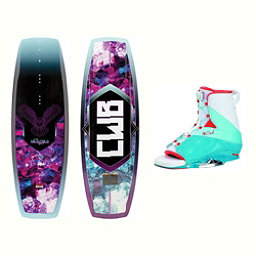 CWB Wild Child Womens Wakeboard With Karma Bindings 2017, , 256
