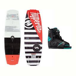 Hyperlite Franchise Wakeboard With Remix Bindings 2017, , 256