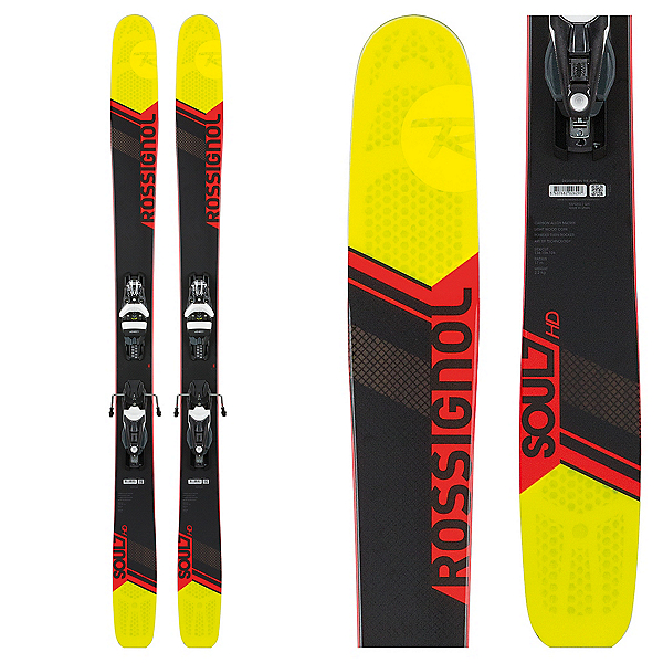 Rossignol Soul 7 HD Skis with NX12 Konnect Dual Bindings, , 600
