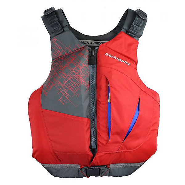 Stohlquist Escape Adult Kayak Life Jacket 2019, Red, 600
