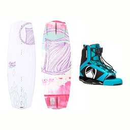 Liquid Force Angel Womens Wakeboard With Plush Bindings 2017, , 256