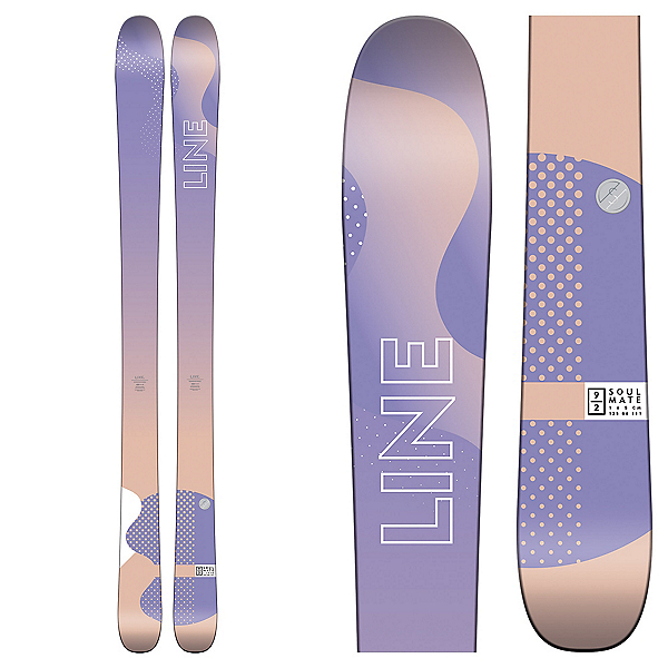 Line Soulmate 92 Womens Skis 2018, , 600
