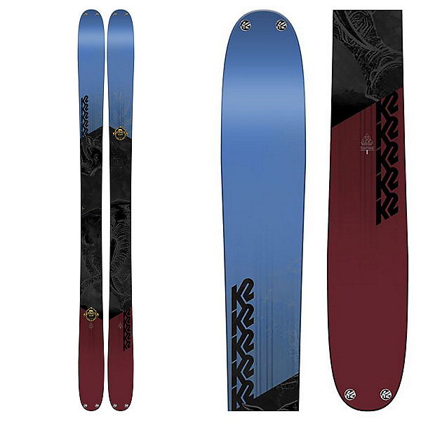 K2 Poacher Skis 2018, , 600