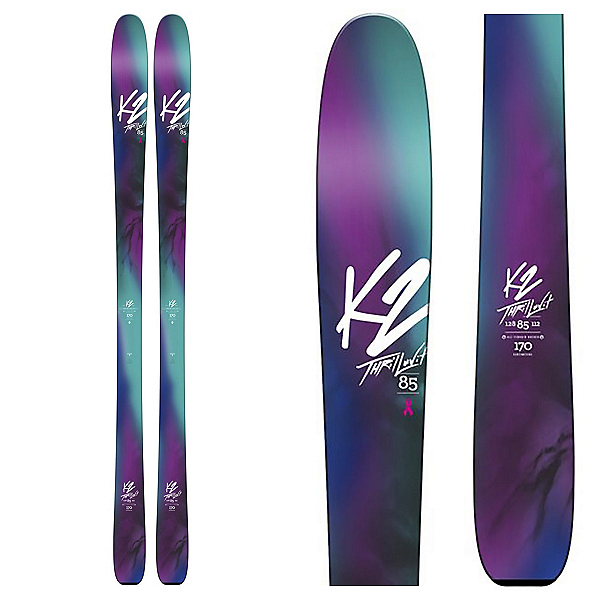 K2 ThrilLUVit 85 Womens Skis 2018, , 600