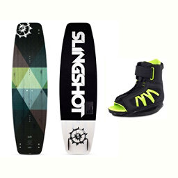 Slingshot Nomad Wakeboard With Option Bindings 2017, , 256