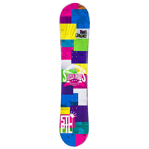 Stella Patch Girls Snowboard, , 600