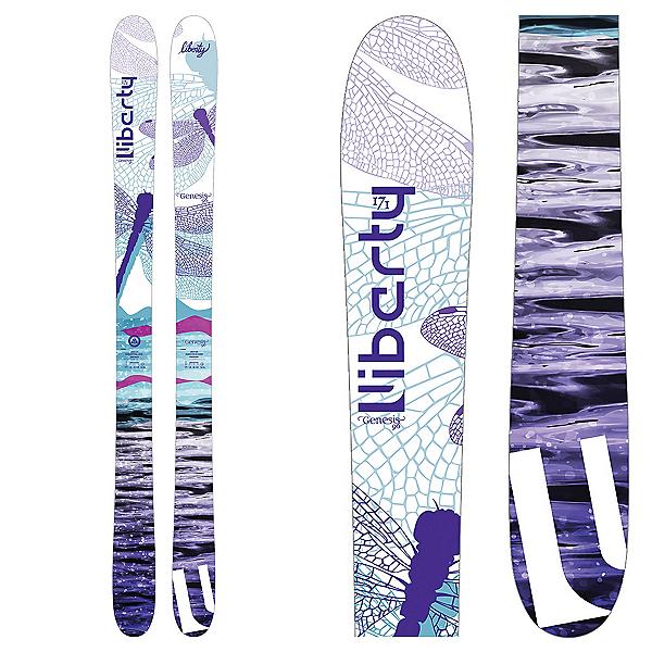 Liberty Skis Genesis 96 Womens Skis 2018, , 600