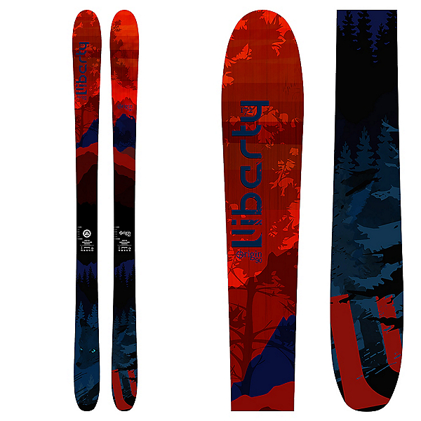 Liberty Skis Origin 90 Skis 2018, , 600