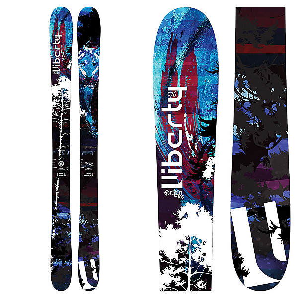 Liberty Skis Origin 106 Skis 2018, , 600