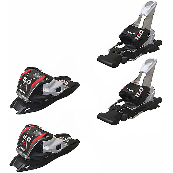 Marker 11.0 TP Ski Bindings, Black, 600
