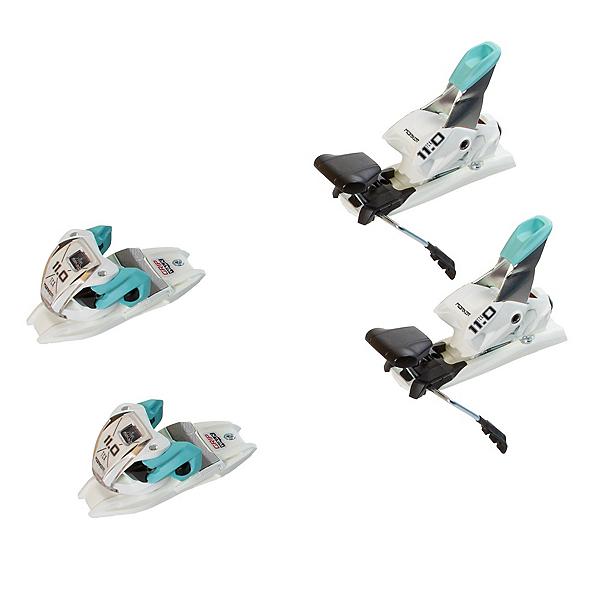 Marker 11.0 TP Ski Bindings, White-Mint, 600