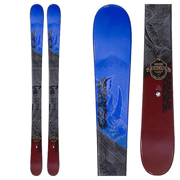 K2 Poacher Jr. Kids Skis 2018, , 600