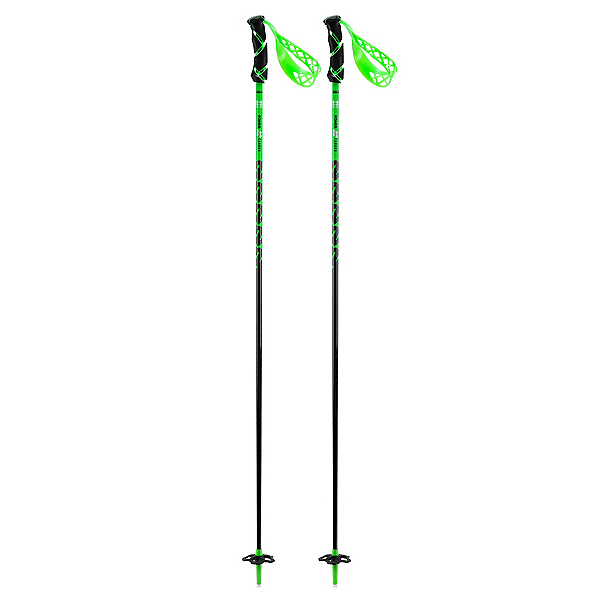 K2 Power Carbon Ski Poles 2018, Green, 600
