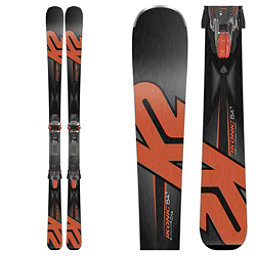 K2 iKonic 84Ti Skis with MCx 12TCx Bindings 2018, , 256