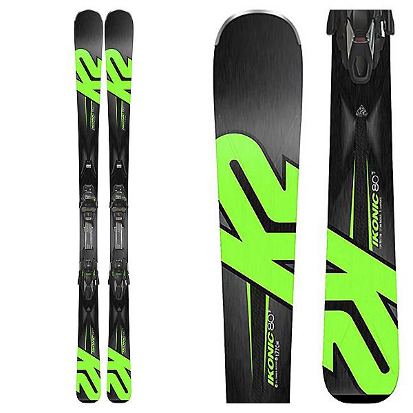 K2 iKonic 80Ti Skis with MCX 12TCx Light Bindings 2018, , 600