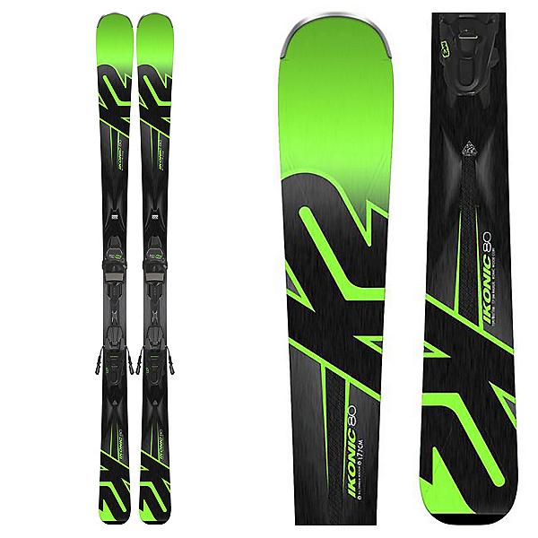 K2 iKonic 80 Skis with M3 12 TCx Light Bindings 2018, , 600