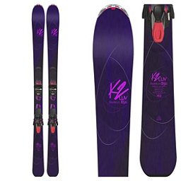 K2 OooLaLuv 85Ti Womens Skis with ERC 11TCx Light Bindings 2018, , 256