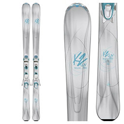 K2 BeLuved 78Ti Womens Skis with ER3 10 Bindings 2018, , 256