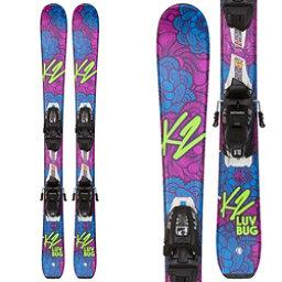 K2 Luv Bug Kids Skis with FDT 4.5 Bindings 2018, , 256