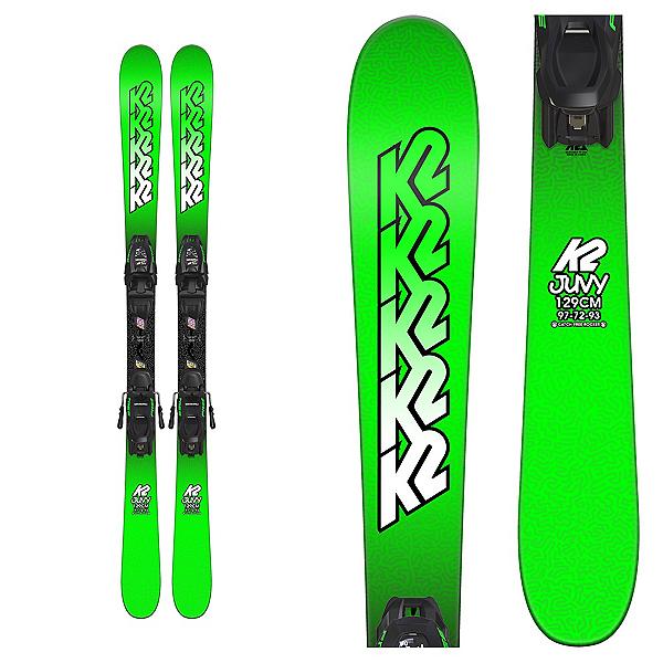 K2 Juvy Kids Skis with FDT 7.0 Bindings, , 600
