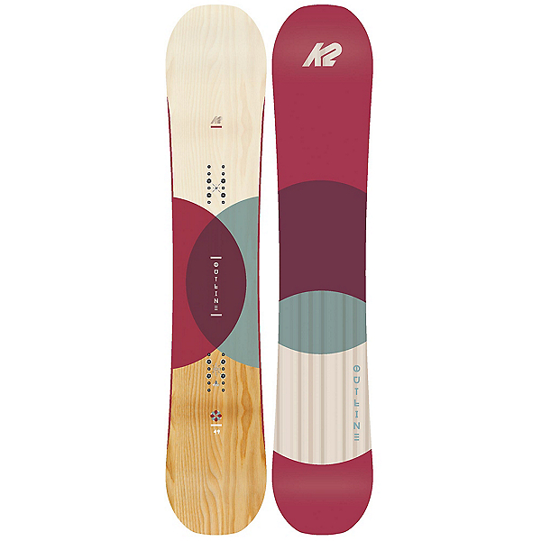 K2 Outline Womens Snowboard 2018, , 600