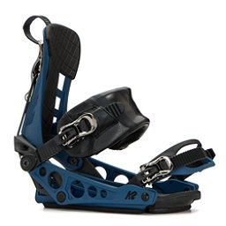 K2 Cinch TS Snowboard Bindings 2019, Blue, 256