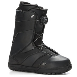 K2 Raider Boa Coiler Snowboard Boots 2018, Black, 256