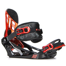 K2 Vandal Kids Snowboard Bindings 2018, Black, 256