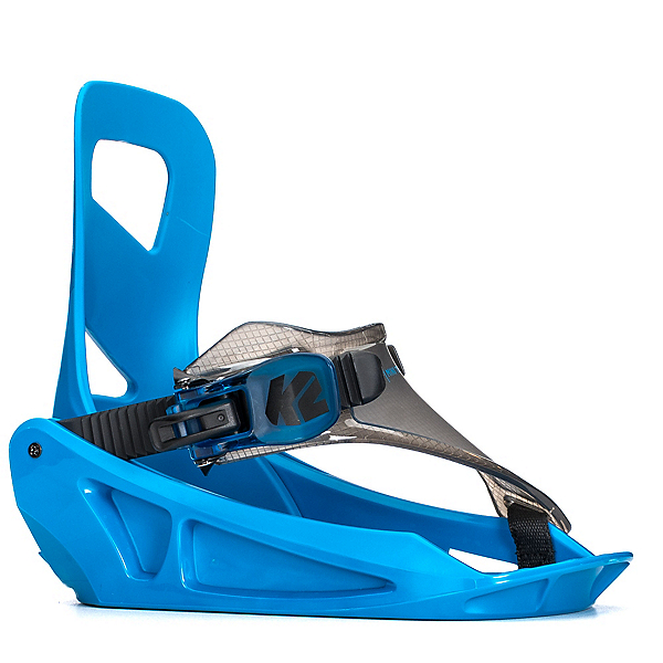 K2 Mini Turbo Kids Snowboard Bindings 2019, Blue, 600