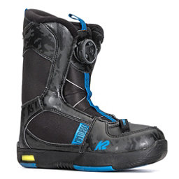 K2 Mini Turbo Kids Snowboard Boots 2018, Black, 256