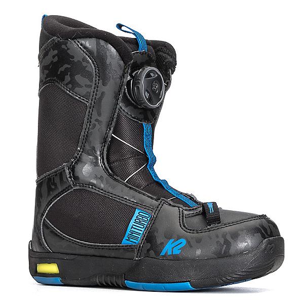 K2 Mini Turbo Kids Snowboard Boots, Black, 600