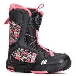 K2 Lil Kat Girls Snowboard Boots 2018, Black, 256