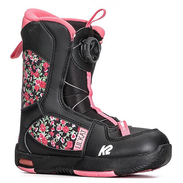 K2 Lil Kat Girls Snowboard Boots 2019, Black, 600