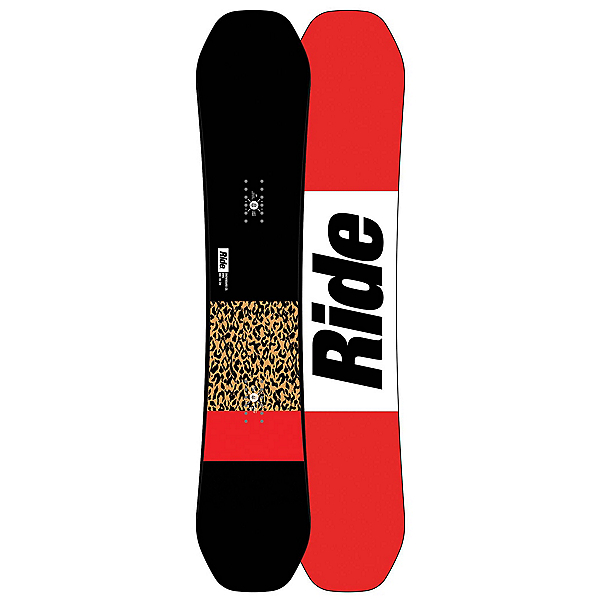 Ride OMG Womens Snowboard 2018, 146cm, 600